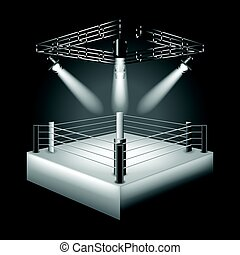 Boxeo vector de fondo