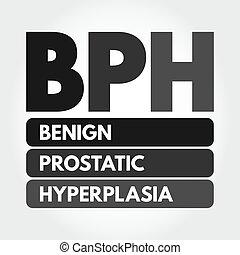 bph, siglas, hyperplasia, benigno, prostatic, -