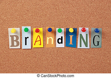 branding, sola palabra