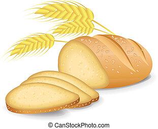bread, enhebrado