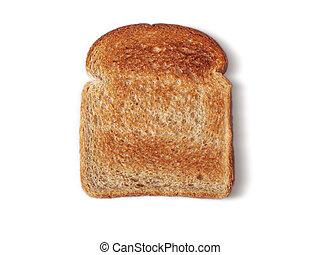 bread, mantequilla, no, tostado