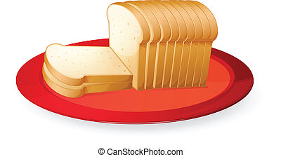 bread, rebanadas