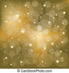 Brillantes estrellas de fondo