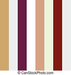 Brillantes rayas sin color.