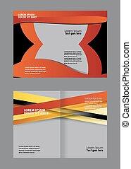 Brochure bi pliegue