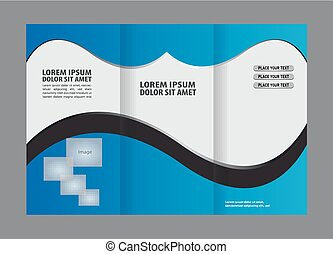 Brochure tri pliegue