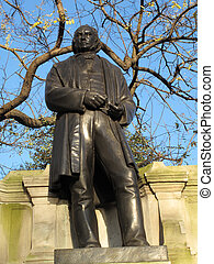 brunel, estatua, isambard