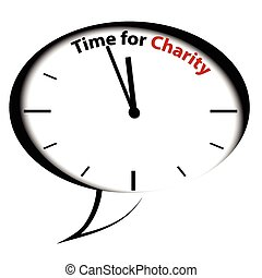 Bubble reloj-Time para caridad
