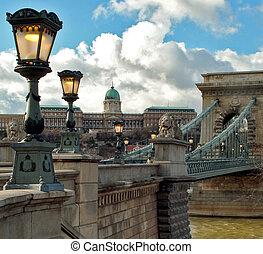 budapest, cadena el puente