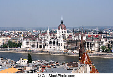 Budapest, el Parlamento