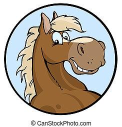 Buena ilustración de caballo