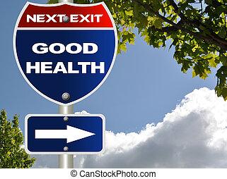 Buena señal de salud