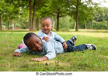 Buenos niños africanos