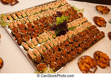 buffet, abastecimiento