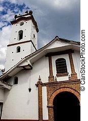 buga, san, colombia, francisco, histórico, de, capilla, ciudad, construido, 1746, guadalajara