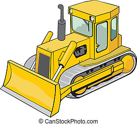 Bulldozer de oruga