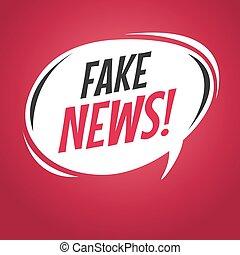 Burbuja de discursos falsos.