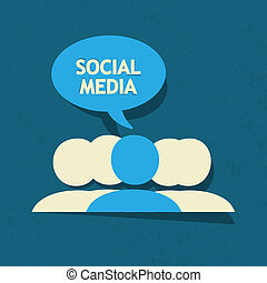 Burbuja de habla de los medios sociales