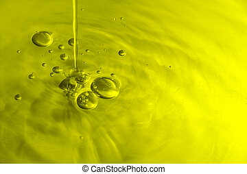 Burbujas de aceite de oliva