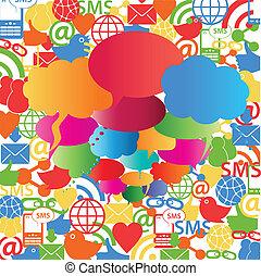 Burbujas de la red social