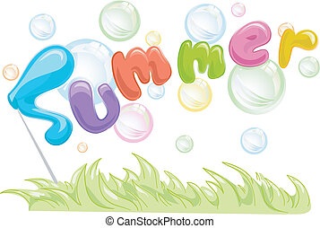 Burbujas de verano