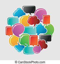 Burbujas sociales de los medios