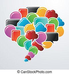 Burbujas sociales en el discurso de la comunicación