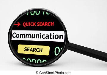 Busca comunicación