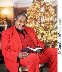 Buscando una lectura de la Biblia de Navidad
