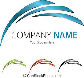 (business), compañía, diseño, logotipo