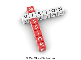 buzzwords:, misión, visión