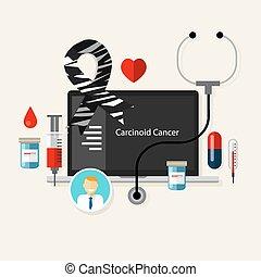 Cáncer cancerígeno, cebras médicas, enfermedades de salud