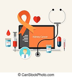 Cáncer de riñón, enfermedades de salud
