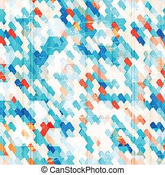 Células azules sin marcas