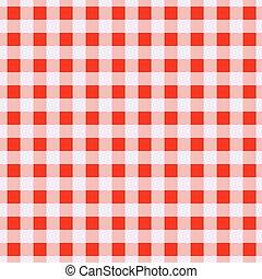 Células rojas geométricas sin patrón