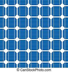 Células solares de fondo