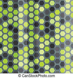 Células verdes sin marcas