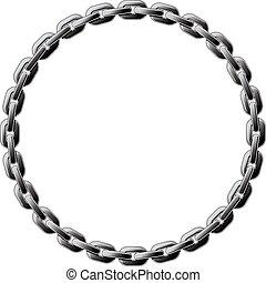círculo, cadena