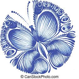 Círculo floral