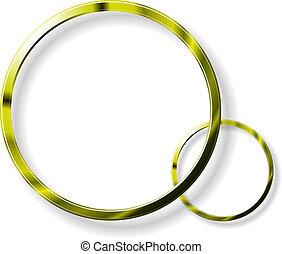 Círculos de oro