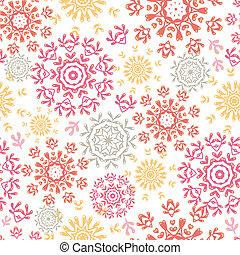 Círculos florales plegables un patrón abstracto de fondo
