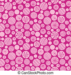 Círculos rosados abstractos sin estructura de fondo