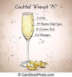 Cóctel francés 75