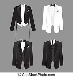 Código de ropa de hombre