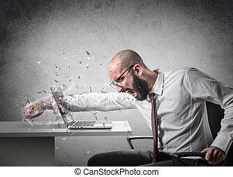 cólera, explosión