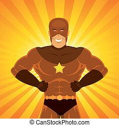 cómico, superhero, potencia