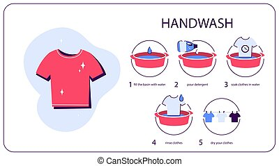 Cómo lavar ropa a mano. Instrucción para ama de casa