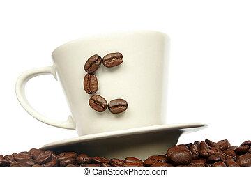 C de café