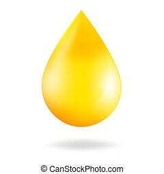 Caída amarilla