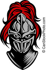 Caballero oscuro medieval